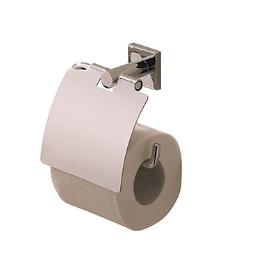 Valsan Braga Toilet Roll Holder; Polished Nickel