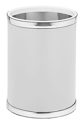 Kraftware Sophisticates 2.5 Gallon Waste Basket; Polish