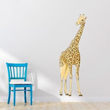 Wallums Wall Decor Giant Giraffe Printed Wall Decal