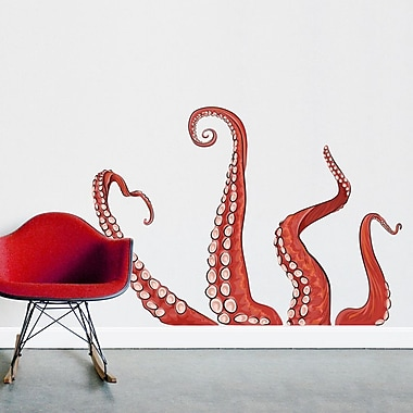 Wallums Wall Decor Ocropus Tentacles Printed Wall Decal