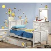 Borders Unlimited 54 Piece Let It Bee Happy Super Jumbo Appliqu  Wall Decal Set