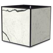 TheTrades&WaresCo Porcelain Planter Box; Bianco Statuario