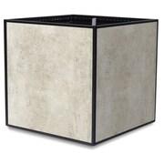 TheTrades&WaresCo Porcelain Planter Box; White