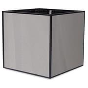 TheTrades&WaresCo Porcelain Planter Box; Grigio