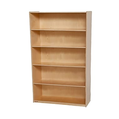 Wood Designs 60'' Standard Bookcase; Natural