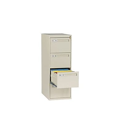 Tennsco 4 Drawer Vertical Legal Size File Cabinet