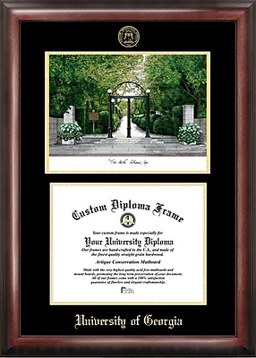 Campus Images NCAA Georgia University Diploma Lithograph Picture Frame