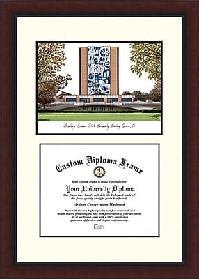 Campus Images NCAA Bowling Green State University Legacy Scholar Diploma Picture Frame