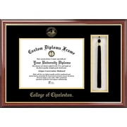 Campus Images NCAA College of Charleston Tassel Box and Diploma Picture Frame