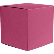 LUX Small Cube Gift Boxes (2 5/32 x 2 1/8 x 2 5/32) 10/Box, Magenta (SCUBE-10-10)