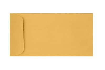 LUX 6 x 11 1/2 Open End Envelopes 1000/Box) 1000/Box, 28lb. Brown Kraft (61112-28BK-1M)