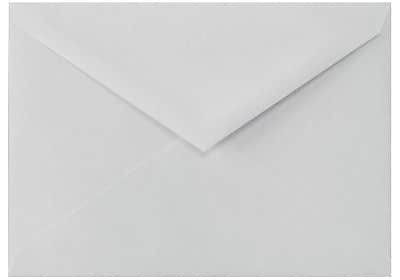 LUX 4 BAR Envelopes (3 5/8 x 5 1/8) 50/Box, 100% Cotton - Gray (4BAR-SG-50)