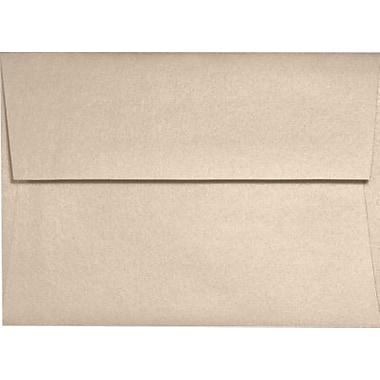 LUX A1 Invitation Envelopes (3 5/8 x 5 1/8) 250/Box, Taupe Metallic (5365-M09-250)