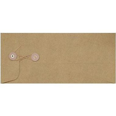 LUX #10 Button & String Envelopes (4 1/8 x 9 1/2) 250/Box, Grocery Bag (10BS-GB-250)