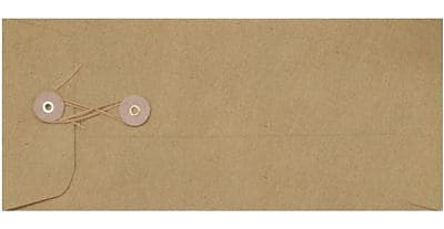 LUX #10 Button & String Envelopes (4 1/8 x 9 1/2) 1000/Box, Grocery Bag (10BS-GB-1M)
