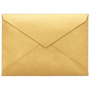 LUX 5 1/2 BAR Envelopes (4 3/8 x 5 3/4) 250/Box, Gold Metallic (512BAR-07-250)