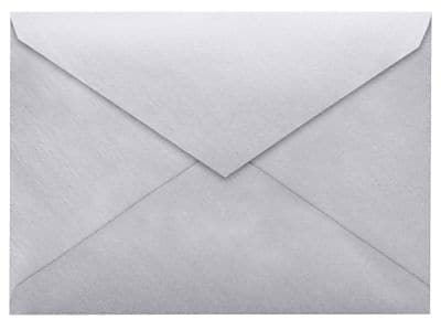 LUX 4 BAR Envelopes (3 5/8 x 5 1/8) 1000/Box, Silver Metallic (4BAR-06-1M)