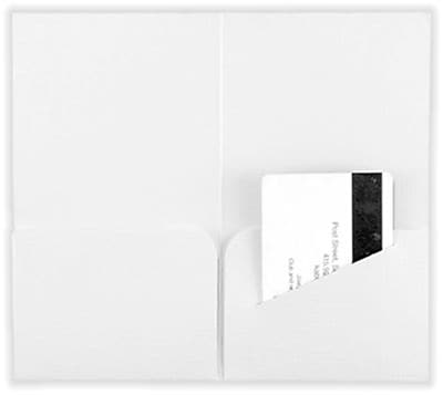 LUX® Key & Gift Card Mini Folders, 3 3/8