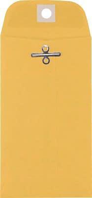 LUX® #5 1/2 Coin Clasp Envelopes, 3 1/8