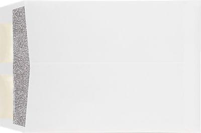 LUX 9 x 12 Open End Envelopes 1000/Box) 1000/Box, 28lb. White w/ Security Tint (WS-4894-ST-1M)