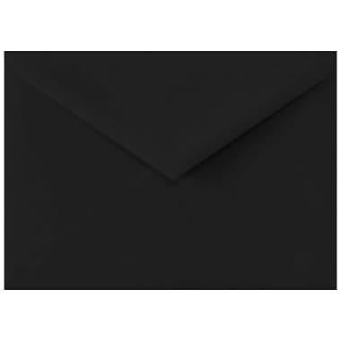LUX Lee BAR Envelopes (5 1/4 x 7 1/4) 500/Box, Midnight Black (LEEBAR-B-500)
