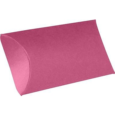 LUX Small Pillow Boxes (2 x 3/4 x 3) 50/Box, Magenta (LUX-SPB-10-50)