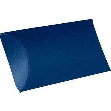 LUX Medium Pillow Boxes (2 1/2 x 7/8 x 4) 250/Box, Navy (LUX-MPB-103-250)