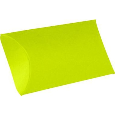 LUX Small Pillow Boxes (2 x 3/4 x 3) 50/Box, Wasabi (LUX-SPB-L22-50)