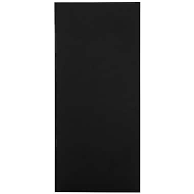 LUX 4 x 9 Pocket Folders 1000/Box, Black Linen (49F-BLI-1M)