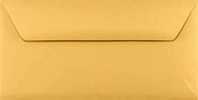 LUX #16 Bankers Flap Envelopes (6 x 12) 250/Box, 28lb. Brown Kraft (WS-3680-250)