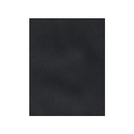 "LUX® Cardstock, 11"" x 17"", Midnight Black, 500 Qty (1117-C-B-500)"