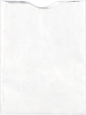 LUX RFID Blocking Passport Sleeves (3 7/8 x 5 1/8) 250/Box, 18lb. Tyvek (RFID-PPS-250)