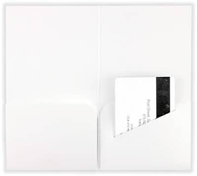 LUX® Key & Gift Card Mini Folders, 3 3/8