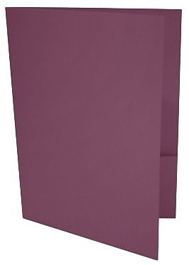 LUX 9 x 12 Presentation Folders 50/Box, Vintage Plum (LUX-PF-104-50)