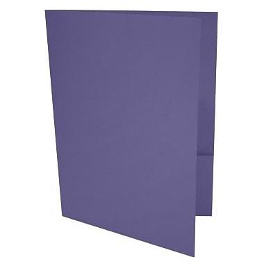 LUX 9 x 12 Presentation Folders 250/Box, Wisteria (LUX-PF-106-250)