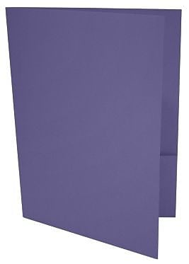LUX 9 x 12 Presentation Folders, Standard Two Pocket, Wisteria, 250/Pack (LUX-PF-106-250)