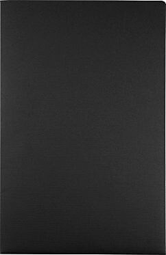 LUX 9 1/2 x 14 1/2 Presentation Folders 500/Box, Black Linen (LEPF-BLI-500)
