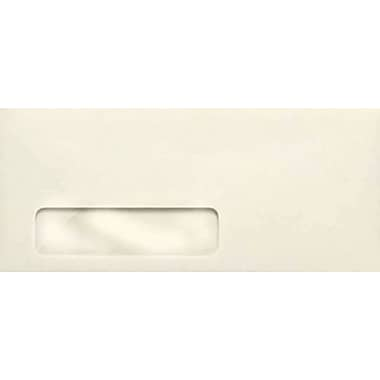 LUX #10 Window Envelopes (4 1/8 x 9 1/2) 500/Box, 24lb. Natural Linen (WS-3270-500)