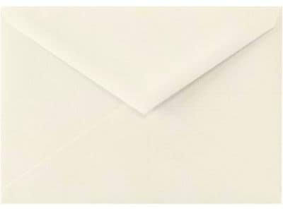 LUX 5 1/2 BAR Envelopes (4 3/8 x 5 3/4) 1000/Box, Natural Linen (512BAR-NLI-1M)