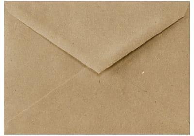 LUX 5 1/2 BAR Envelopes (4 3/8 x 5 3/4) 50/Box, Grocery Bag (512BAR-GB-50)