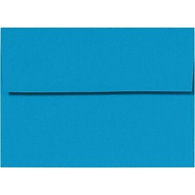 LUX 5 1/2 BAR Envelopes (4 3/8 x 5 3/4) 500/Box, Navy (LUX512BAR103500)