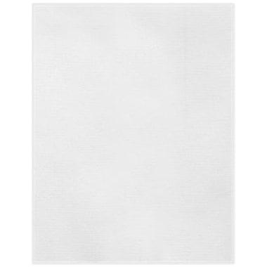 LUX 11 x 17 Cardstock 50/Box, White Linen (1117-C-WLI-50)
