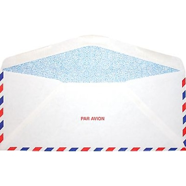 LUX #10 Regular (4 1/8 x 9 1/2) 250/Box, Airmail w/ Security Tint (WS-2956-250)
