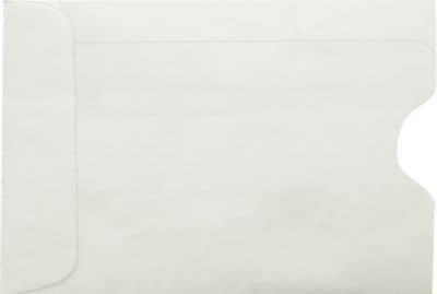 LUX Credit Card Sleeves (2 3/8 x 3 1/2) 250/Box, 80lb. Natural (1801-80N-250)