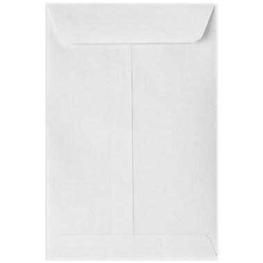 LUX 6 x 9 Open End Envelopes 50/Box) 50/Box, 80lb. White