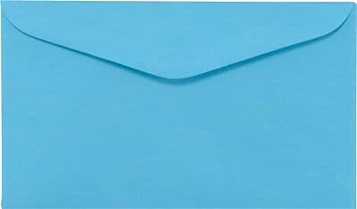 LUX #6 1/4 Regular Envelopes (3 1/2 x 6) 500/Box, Bright Blue (WS-0073-500)
