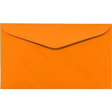 LUX #6 1/4 Regular Envelopes (3 1/2 x 6) 250/Box, Electric Orange (WS-0075-250)