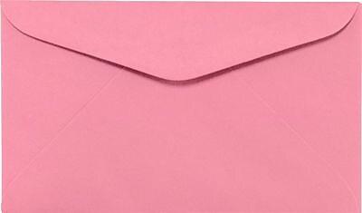 LUX #6 1/4 Regular Envelopes (3 1/2 x 6) 250/Box, Electric Pink (WS-0068-250)