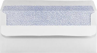 LUX #10 Regular Envelopes (4 1/8 x 9 1/2) 50/Box, White w/ Simple Seal