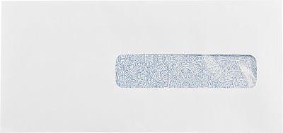 LUX #10 1/2 Window Envelopes (4 1/2 x 9 1/2) 250/Box, 24lb. White w/ Sec Tint